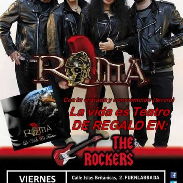 THE ROCKERS. FUENLABRADA